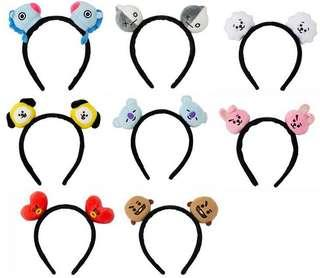 [PO] bts bt21 headband