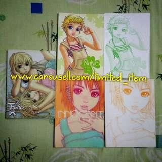 (FREE POSTAGE!) Buku Komik Comic Novel Grafik Manga Gempak Starz - The Fishes, Naive, Innocent karya Ben Wong