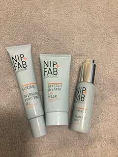Brand New Nip + Fab Skincare