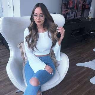 White top fashionnova