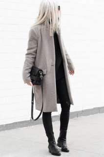 Grey FW Coat Medium