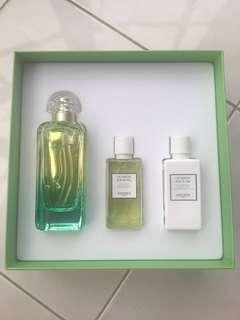 💯Guaranteed Original NEW Unused HERMES Un Jardin Sur Le Nil Perfume 100ml EDT Limited Edition Set (SELL AT LOSS) GOOD DEAL!