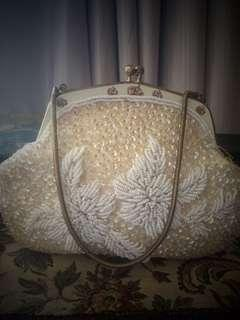 Sweetest vintage evening bag beaded sequins