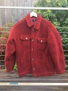 Red pixie jacket