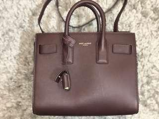 Ysl sac de jour small premium quality in very good condition 9.5/10 come with full set help my friend to sell dis bag for more photos please whatsapp me