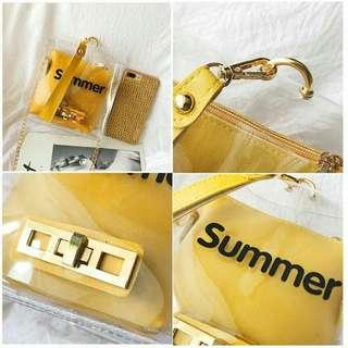 [ READY STOCK ] MINI SUMMER 2IN1 SWITCH SLINGBAG