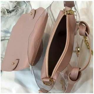 [ READY STOCK ] MINI AMY 2IN1 UNGOYA SLINGBAG