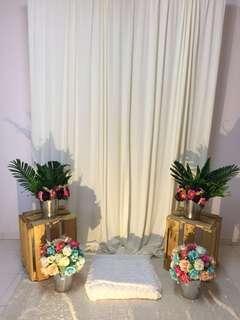 Wedding/engagement decoration pelamin