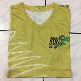 Jersey Running Arkheo Run 2017 Singlet Size M Unisex