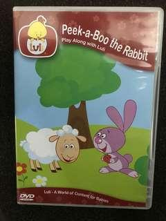 DVD Peek-a-boo the rabbit