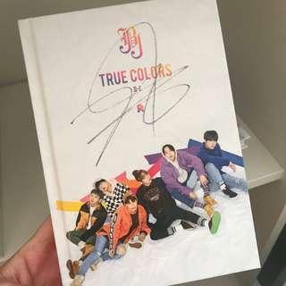 jbj true colours official mwave signed albums