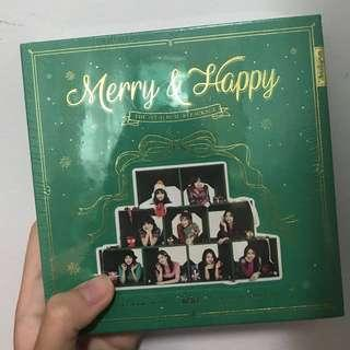 [INSTOCK] TWICE Merry & Happy (Sealed)