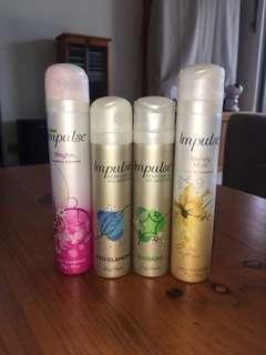 Impulse Body Spray