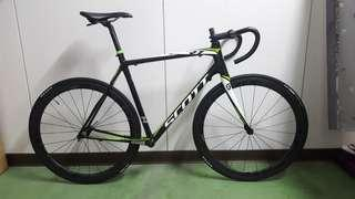 Frame and wheelset only
