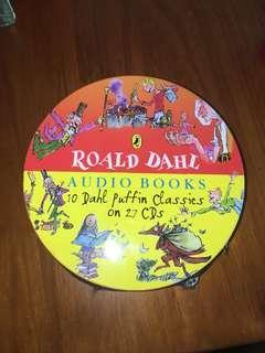 Roald Dahl Audiobook Collection