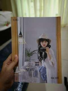 Jihyo photobook to:once from:jihyo