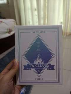 Twiceland the opening encore bluray