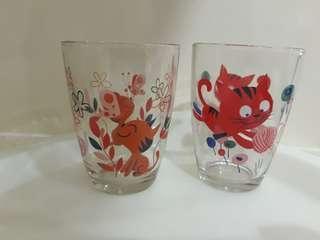 Drinking Glass (2 pcs new)