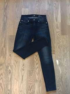 7 For All Mankind Skinny Jeans - Size 25