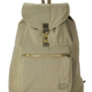 Porter Draft RuckSack Beige 吉田旅行背囊 背包 米色