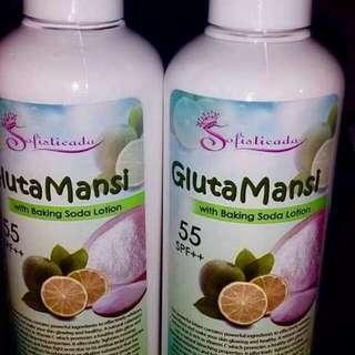 Sofostikada glutamansi lotion spf55