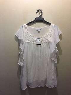 Crossroads puffy sleeve Shirt sIze 20