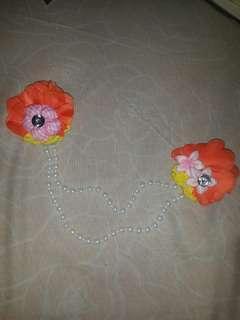 Bross bunga hijab (baru)