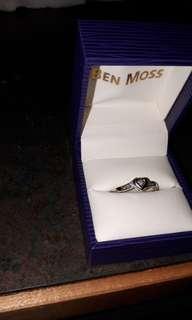 10k White Gold Diamond Ring from Ben Moss