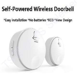 🚚 免電池 無線 門鈴 免佈線 不用電池 自發電 家用 老人 緊急 求救 聽障 身障 病患 服務 鈴 寵物 電鈴 一對一 一對多 多對一 多對多 self powered wireless doorbell