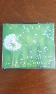 Quiet Music For Quiet Listening (3-CD set)