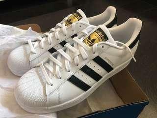 Adidas Superstar white US 9.5
