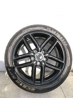 Used Car Spare Tyre & Rim
