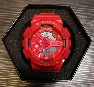 ga110 二手 手表 紅色 98%new