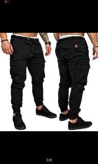 *Preorder*Cargo pants jogger pants