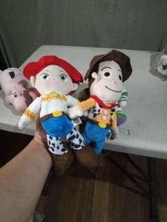 Toy story woody and jessie stuff toy