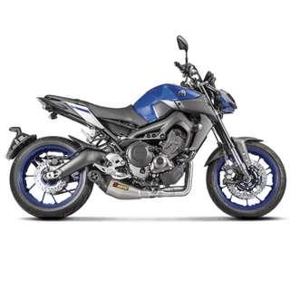Akrapovic Full System for Yamaha MT09 SP