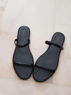 Forever21 Black Sandals