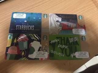 10 Starbucks Cards (each loaded with $10)