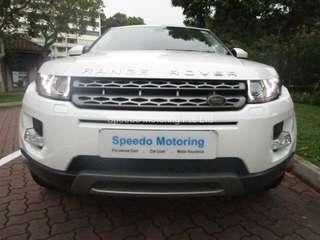 Land Rover Range Rover Evoque 2.0 TSS SR