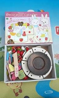 PL WOODEN JAPANESE DECORATION CAKE SET