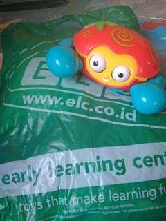 ELC push n go Crab. (mainan berjalan)