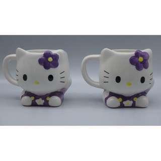 2006 Hello Kitty 日本限定版 陶瓷杯 一對 w/Box