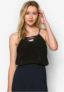 BNEW Cotton On Lace-up Top
