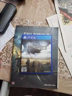 Final Fantasy XV + Guidebook PS4