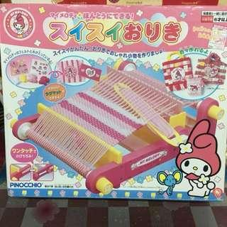 My Melody 毛冷物品 製作器 DIY 手挽袋 收納袋