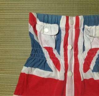 British flag tube dress