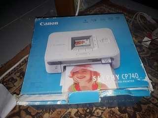 Canon Selphy CP740 Compact Photo Printer