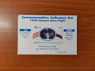 1995 100th Manned Space Flight Commemorative Collectors Set