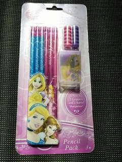 Disney princess stationary pack