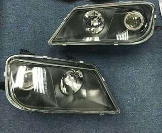 Lampu Waja Frame Black